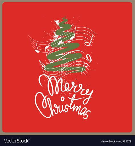 merry christmas song royalty  vector image