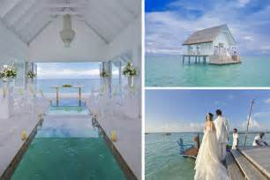 Cheap Wedding Packages Maldives Resort Opens Overwater Wedding Venue With Glass Aisle Daily Star
