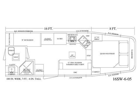 horse trailer living quarter floor plans living quarter horse trailer 16 short wall floor plan