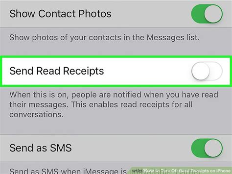phone text template read receipt how to turn read receipts on iphone 7 steps with