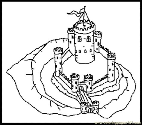 castle moat coloring page oring page castle with moat 3 coloring page free china