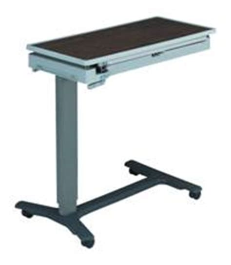 The Bed Table With Wheels by Overbed Table Casters Hospital Furniture Casters