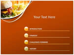fast food powerpoint template best photos of food powerpoint templates fast food