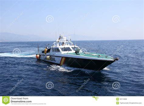 by boat in spanish spanish police boat editorial stock photo image 33174968