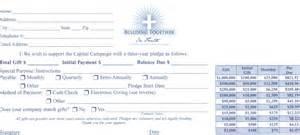 making a pledge st teresa of avila catholic church