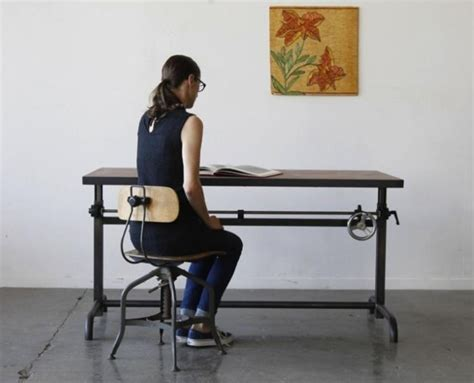 Drafting Table Standing Desk 17 Best Images About Standing Desks References On Pinterest Industrial Antique Drafting