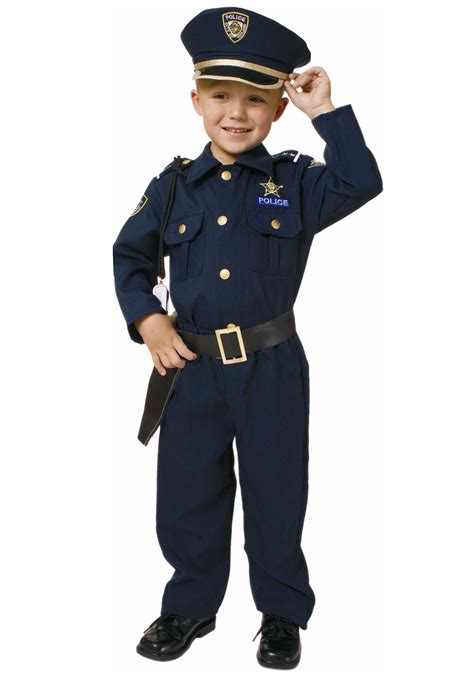 cop costume toddler deluxe officer costume