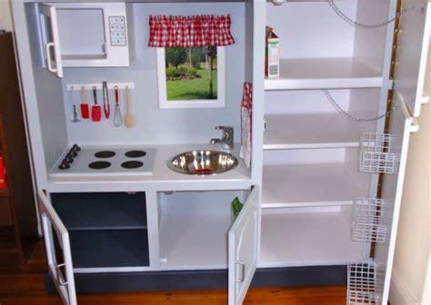 9 old furniture 10 fantastic diy play kitchens salvaged tv unit 10 fantastic diy play kitchens