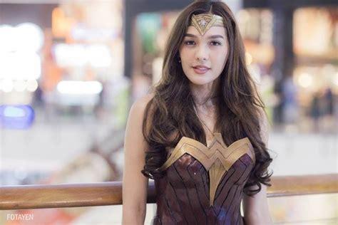 film thailand lgbt transgender model rocks the wonder woman look