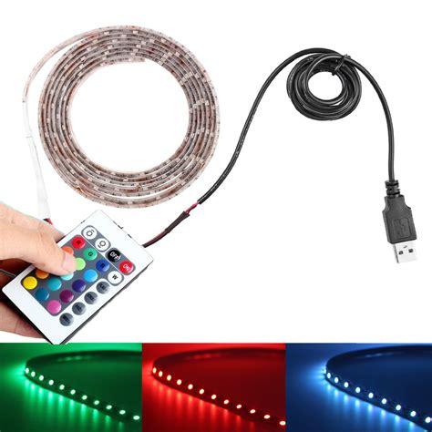 5v usb led strip っ light light 5050 rgb waterproof