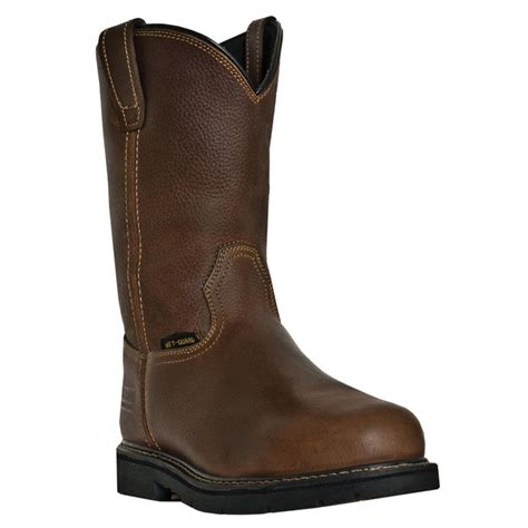 steel toe boots with metatarsal guard mcrae 11 quot western metatarsal guard steel toe electrical