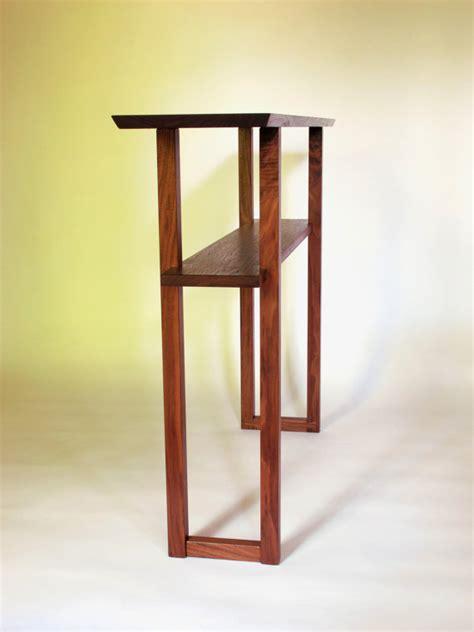 laketon walnut sofa table modern walnut console table for narrow table wood entry