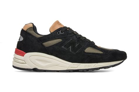 Harga New Balance 990 Made In Usa new balance 990 made in usa black green sneaker bar detroit