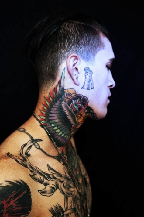 ne yo tattoo on neck 17 best paul booth images on pinterest paul booth