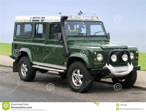 land rover jeep land rover jeep county station wagon stock photo image
