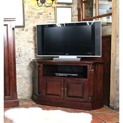 eck tv schrank mahogany corner television cabinet wooden furniture store