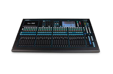 Mixer Allen Heath Qu 32 Channel allen heath qu 32 38 in 28 out digital audio mixer