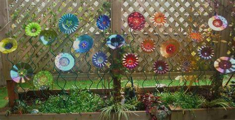 Mosaic Garden Art - mindzeye fused glass garden art mindzeye glass