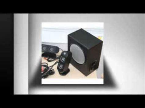 logitech  pc multimedia home theatre speaker system
