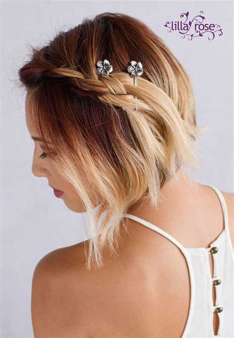 adorable hairstyles with bobby pins