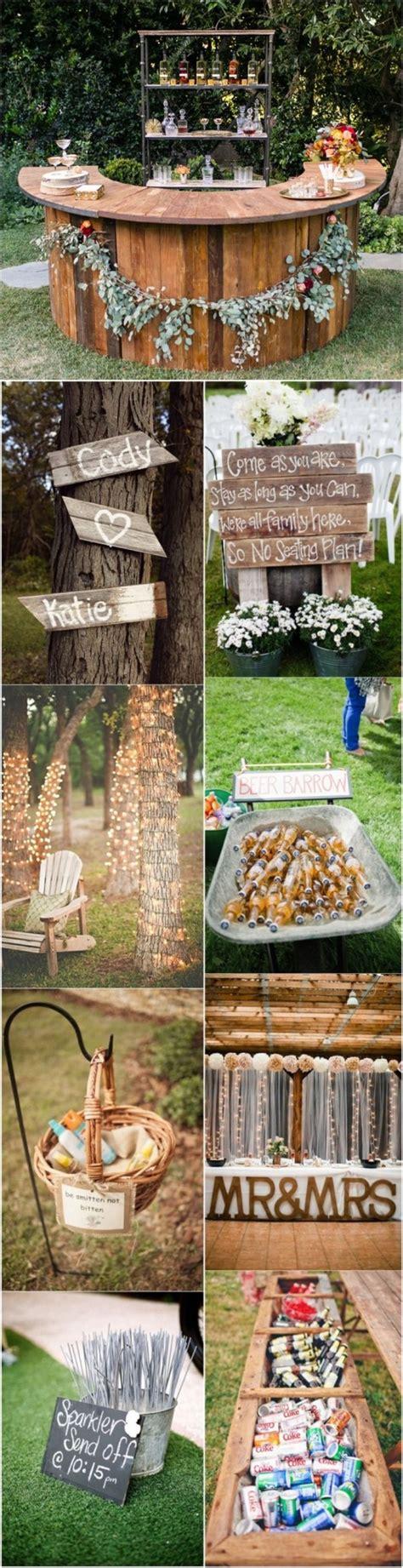 Ideas For Outdoor Wedding Reception by 20 Genius Outdoor Wedding Ideas
