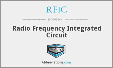 radio frequency integrated circuits rfic radio frequency integrated circuit