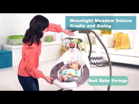 best infant swing reviews best baby swings reviews moonlight meadow deluxe cradle