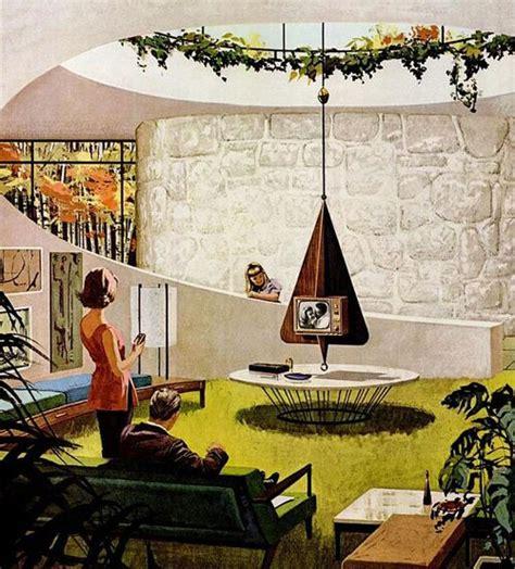 1950s Kitchen Furniture retro futurism 1960 s motorola ad modern bear