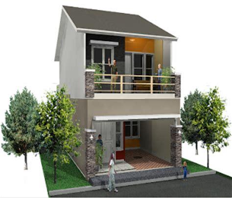 desain rumah minimalis 2 lantai luas tanah 60m2 gambar foto desain rumah