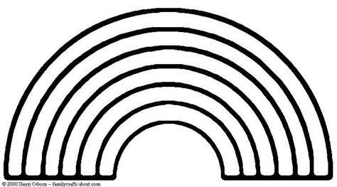 Rainbow Outline Clipart - Clipart Suggest Rainbow Clipart Outline