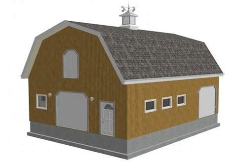 gambrel roof garage customer projects february 2011 apm pole building garage kits shedplan gambrel shed plans homes plans 47737