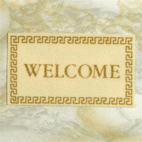 welcome to the dolls house the dolls house emporium welcome mat