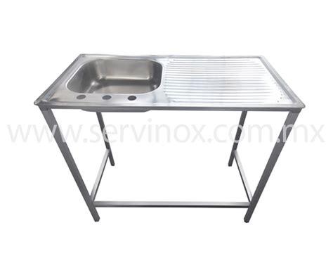 fregadero industrial acero inoxidable servinox todo para tu negocio