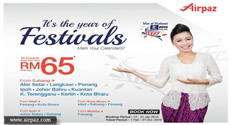 new year 2015 flight promotion new year and cheap flights malindo air airpaz
