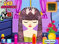 haircut games y8 school girl hairstyle game play online at y8 com