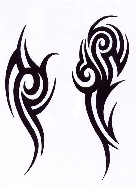 tribal tattoo stencils free 1160x1589 353603
