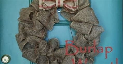 burlap wreath tutorial stonegable suddenly crafty how to make a burlap wreath youtube