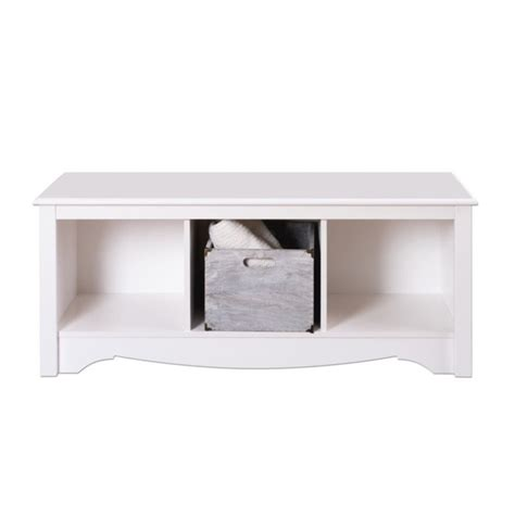 white bench cubby white cubby bench wsc 4820