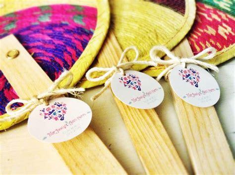 palm hand fans wedding favors beautiful leaf palm hand fan for destination wedding