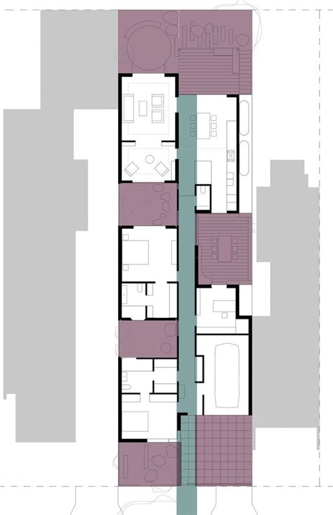 Contemporary House Floor Plans house in house by steffen welsch architects 20 floor