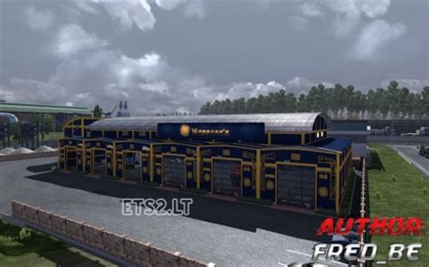 custom large garage ets 2 mods ets2downloads garage custom waberer s ets 2 mods