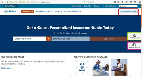 allstate insurance login image mag