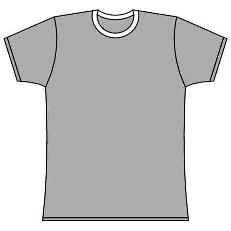 Short Sleeved Tee Shirt Vector Download At Vectorportal Sleeve Shirt Template