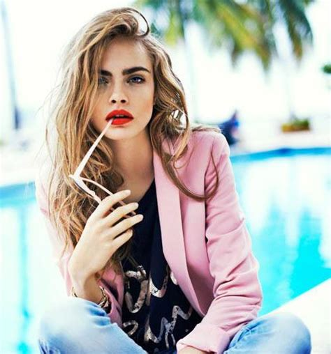cara delevingne pink lipstick cara delevingne red lips lipstick makeup with essence