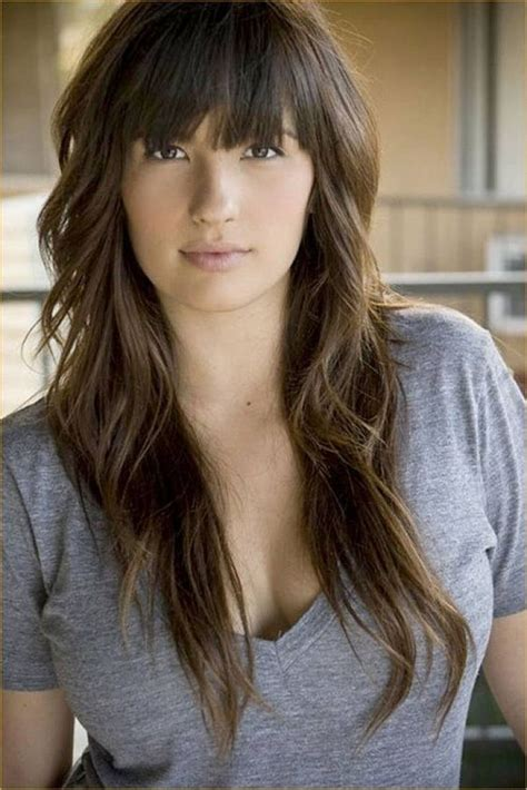 haircuts for round face long hair with layers 17 best long hairstyles for round faces 2016 2017 on
