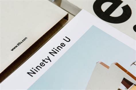 ninety nine u magazine editorial design