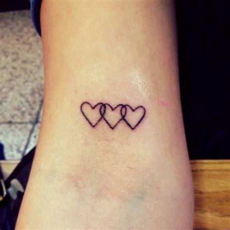 three hearts tattoo designs top 25 best tattoos ideas on cool