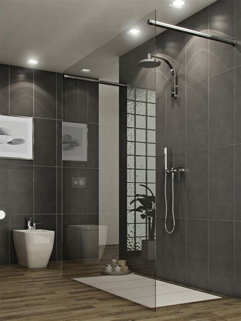 Bathroom Shower Stall Tile Designs Bathrooms A L Abode