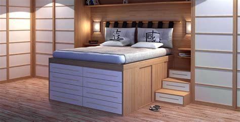 idee letto da letto idee salvaspazio ottimizzare spazio in