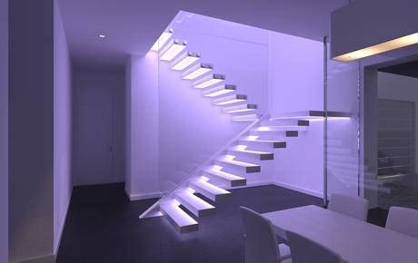 corian hinterleuchtet scale di design esclusive scale in vetro scale interne